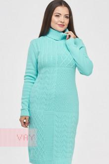 Платье женское 182-2333 Фемина (Голубая бирюза)