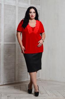 Блуза 066603 ЛаТэ (Красный)