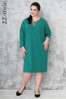 """Платье """"Её-стиль"""" 2023 ЕЁ-стиль (Изумруд)"""